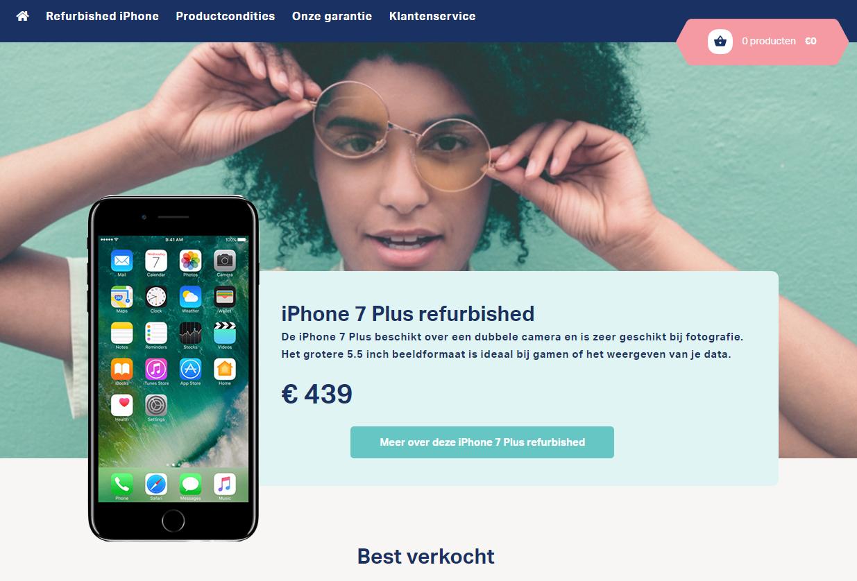 Refurbishedmobiel.nl levert goede kwaliteit